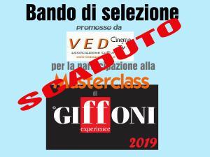 Bando di Selezione per la partecipazione gratuita alla Masterclass di Giffoni Film Festival 2019